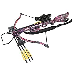 Best pink camouflage crossbow