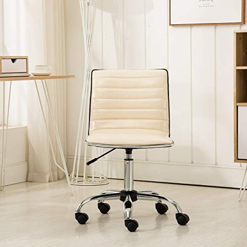 Roundhill Furniture Fremo Chromel Adjustable Air Lift Office...