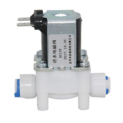 Magnetventil Elektroventil aus Kunststoff, 56x34x50mm - 12V