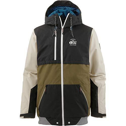 Picture Panel Jacket MVT205 Herren-Snowboardjacke Black Gr. XXL