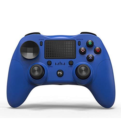 YIQIN Controlador de vibración inalámbrico de doble mango para PS4 Bluetooth gamepad, 6 ejes turbo recargable, mando a distancia Playstation 4PS4/Slim Pro Bluetooth