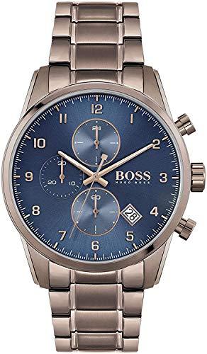 Hugo Boss Quarz Uhr mit Edelstahl Armband 1513788