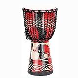 Huachaoxiang Djembe Drum Carved Bongo Afrikanisch Inspirierte Musikanfänger Für Kinder Und...