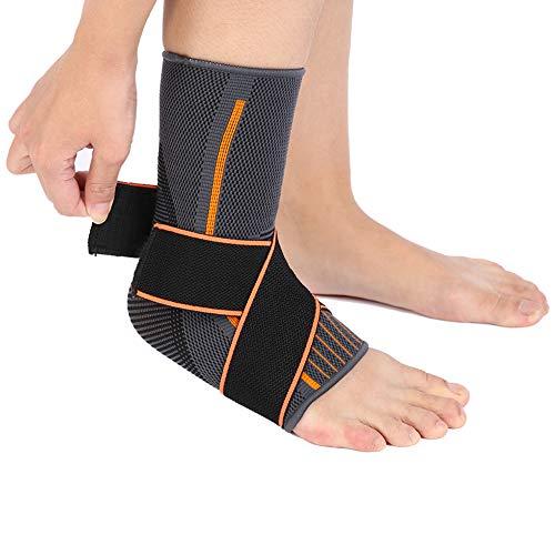 Sportankelbandage Aktivt fotbandage, Achilles senbandage Ankelbandage, fotbandage Fotledsstöd fotled Stabilisering för fotbollsbasket Kronisk fotledssmärta (S)