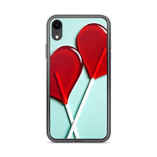 Carcasa para Huawei Y6 II, diseño de corazón con texto 'Rock Liebe Love'