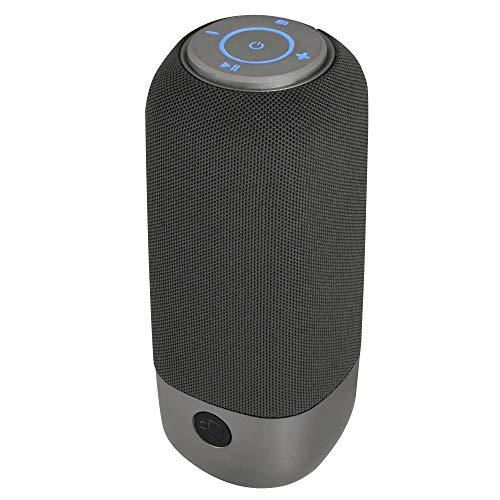 NGS Roller Rocket – Altavoz inalámbrico portátil Compatible con Tecnología Bluetooth-TF. (Card...