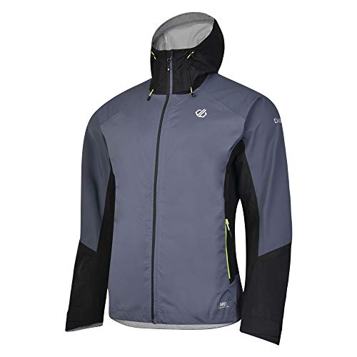 Dare 2b Jacket Veste Technique Haute Performance Homme Aline, QuarryGr/Blk, FR : 3XL (Taille Fabricant : XXXL)