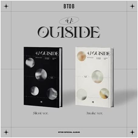 BTOB 4U Limited time sale : Outside Special Album Booklet+1p Ranking integrated 1st place Version CD+96p Random