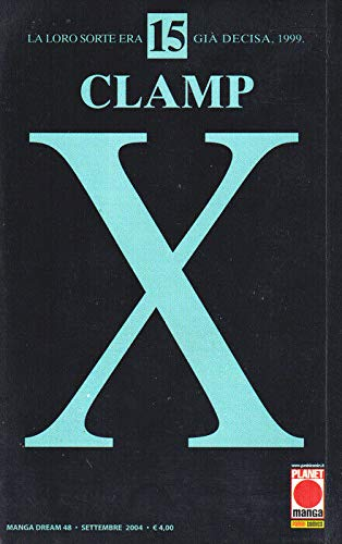 manga X CLAMP Nr. 15 Ed. Panini Planet