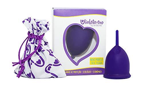 Violeta Cup Coletor Menstrual Violeta Tipo B, Violeta Cup, Violeta, Tipo B Mulheres Com Até 29 Anos E Sem Filhos, E/Ou Com Colo Do Útero De Altura Baixa