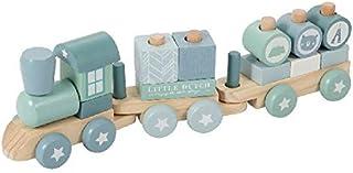 Little Dutch-LD4417 Tren, madera, Multicolor (4417) , color/modelo surtido
