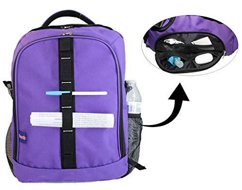 """BoardingBlue Laptop-Rucksack für Amerika, Spirit, Frontier Airlines, unter dem Sitz Violett violett 18\""""X13\""""X8\"""""""