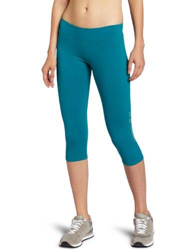 Zumba Fitness LLC Bliss Capri Legging, Damen, pfau, X-Small