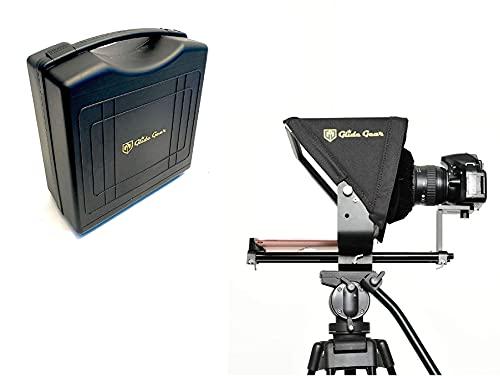 Glide Gear TMP 500 - Treppiede universale per videocamera, 15 mm, con custodia per il trasporto