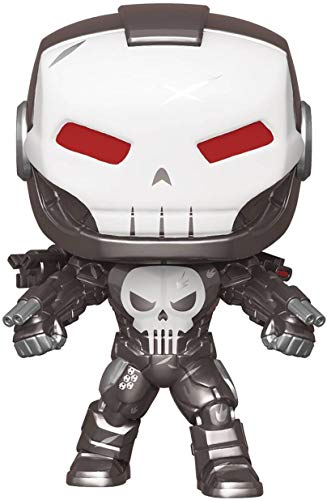 Funko Pop! Marvel: Punisher War Machine Vinyl Figure, Multicolor