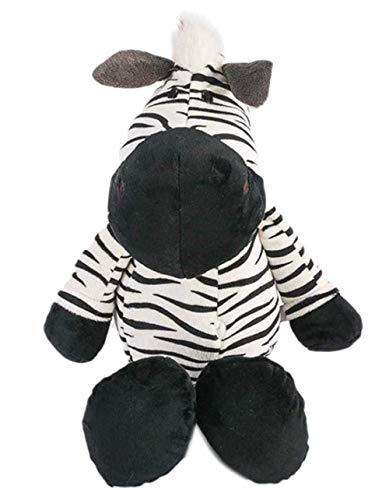 Knuffel 25 cm zebra dieren poppen cartoon knuffel voor kinderen zachte Pp katoen dier pop kinderen verjaardag speelgoed