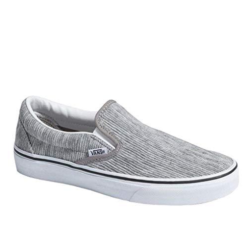 Damen Hausschuhe Classic Slip-On - Größe 41 - Farbe : gray/true white
