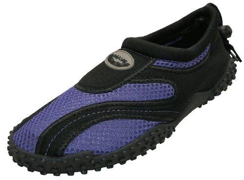 The Wave Easy USA Zapatos de agua para mujer, Morado (Púrpura/negro 1185L), 37 EU