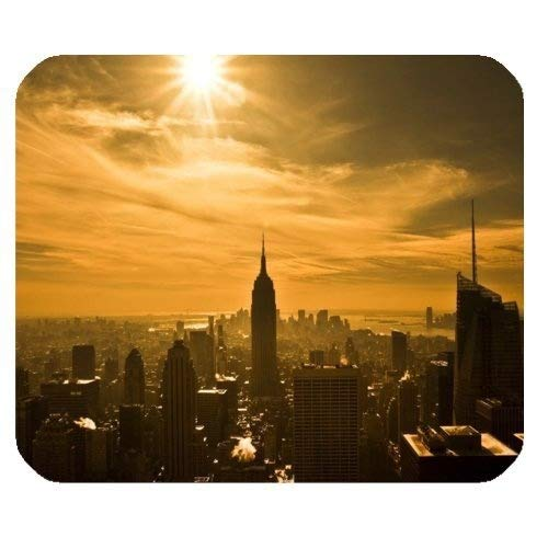 Gaming Mouse pad,Beautiful Charming Sunrise and Sunset Scenery Mouse PadRectangle Mousepad