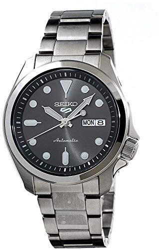 Seiko Reloj Analógico para Hombre de Automático con Correa en Acero Inoxidable SRPE51K1