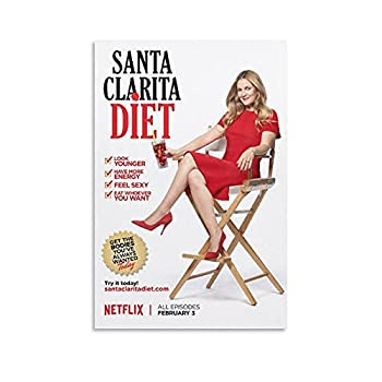 Santa Clarita Diet TV Series Sheila Hammond 11dd Poster And Wall Art Picture Print Modern Family Bedroom Decor Posters 08x12inch 20x30cm