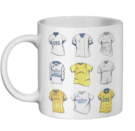 Taza de la Premier League de la Premier Leeds United con diseño...