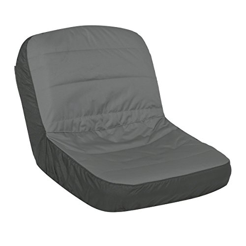 Classic Accessories Deluxe Riding Lawn Mower Seat Cover, Large