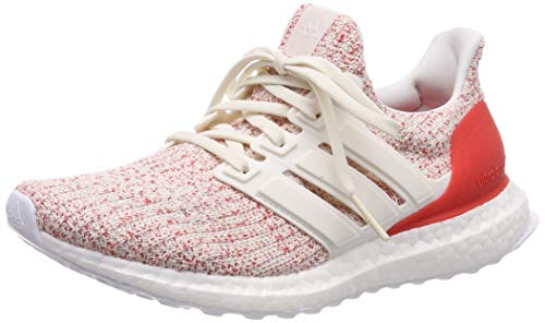 Adidas Damen Ultraboost Sneaker , Weiß Chalk White/Active Red, 41 1/3 EU