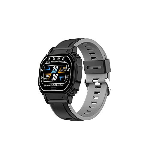 Reloj Inteligente B2 para Hombres Y Mujeres Contador de Calorías del Podómetro del Monitor del Ritmo Cardíaco Reloj Deportivo Bluetooth Impermeable IP67 con Pantalla HD de 0 96