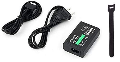 PSV PSVita PCH-1000専用 充電器 ACアダプター 家庭用コンセントタイプ 充電器 USBケーブルセット オリジナル結束バンド付き
