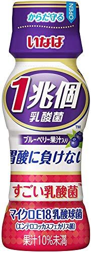 いなば食品 すごい乳酸菌 1兆個 ブルーベリー果汁入り 65ml ×40本