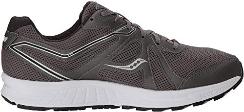 Saucony Grid Cohesion 11 Grey/White/Black 12