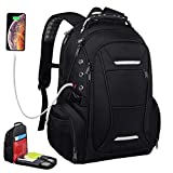 Laptop Backpack for Men Women, 17.3 Inch Computer Traveling Back Pack Bag, Water Resistant Bookbag, Daypack Gift with Compartment Usb Charging Port for Business School College