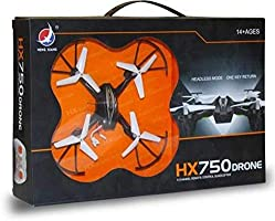 X ZINI HX750 Drone 2.6 Ghz 6 Channel Remote Control Quadcopter Stable Remote-Control Quadcopter with Two Extra Blades...
