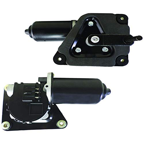New Front Wiper Motor W/Metal Mounting Plate Replacement For 1987-2019 Ford Bronco F Super Duty F-150 F-250 F-350 Alternator Replacement For Ford E7TZ17508A