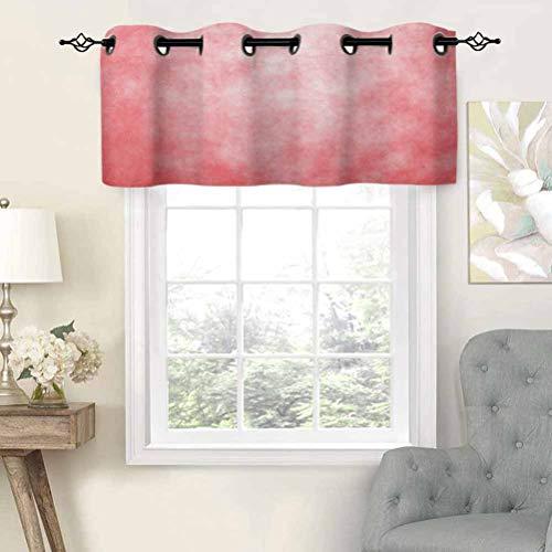 Hiiiman - Panel térmico para ventana con diseño de acuarela pálido, diseño de acuarela, color abstracto, imagen de textura, juego de 1, 91,4 x 45,7 cm para habitación de niños