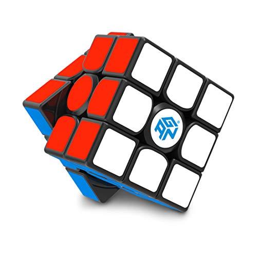 GAN 356 Air SM, 3x3 Magnético Cubo Mágico Speed Puzzle Cubo Velocidad Profesional Cube (Ver.2019)