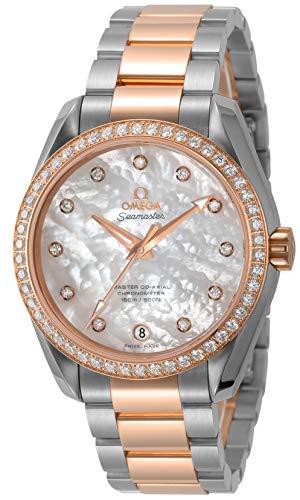 [オメガ] 腕時計 ホワイトパール文字盤 231.25.39.21.55.001 レディース 並行輸入品 シルバー