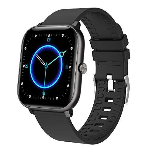 Fitness Armband, LC.IMEEKE Smartwatch Wasserdicht IP67 Fitness Tracker mit Pulsmesser 1,4 Zoll Farbbildschirm Aktivitätstracker Schrittzähler Pulsuhren Smart Watch Fitness Uhr für Damen Herren