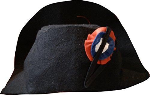 Pouce et Compagnie - PC0196 - Chapeau de Napoléon - Taille Unique - Noir