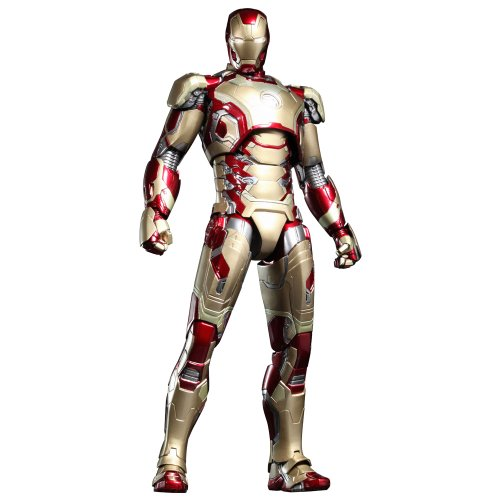 Iron Man Mark XLII Limited Edition Sixth Scale Figure - MMS Diecast Series (Japan Import)