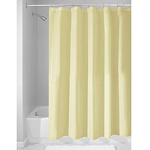 Duschvorhang, wasserdicht, schimmelresistent, 1,8 x 2 m, beige, 1.8 * 2m