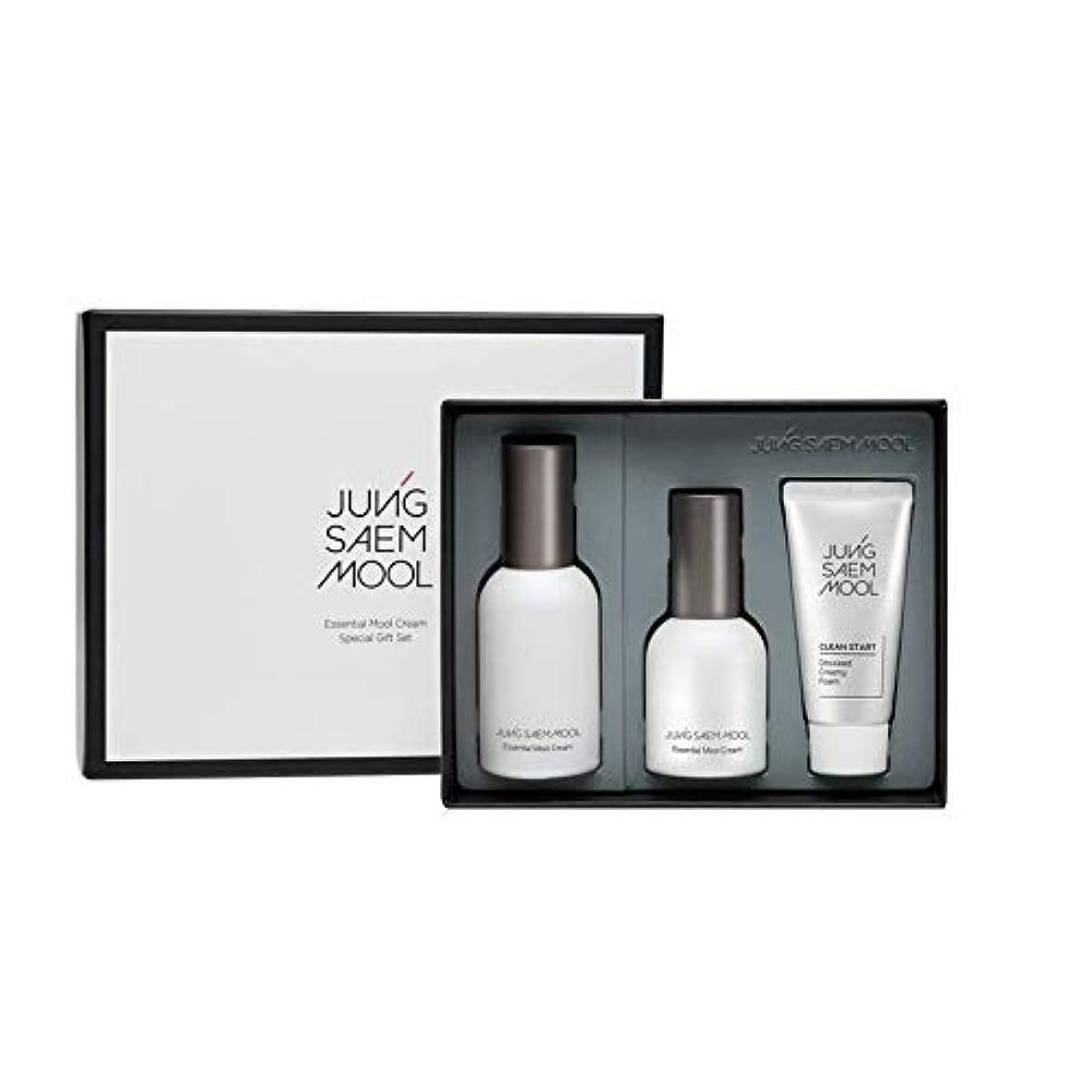 首相微生物ウェブジョンセンムル JUNGSAEMMOOL エッセンシャルムルクリームスペシャルギフトセット Essential Mool Cream Special Gift Set [並行輸入品]