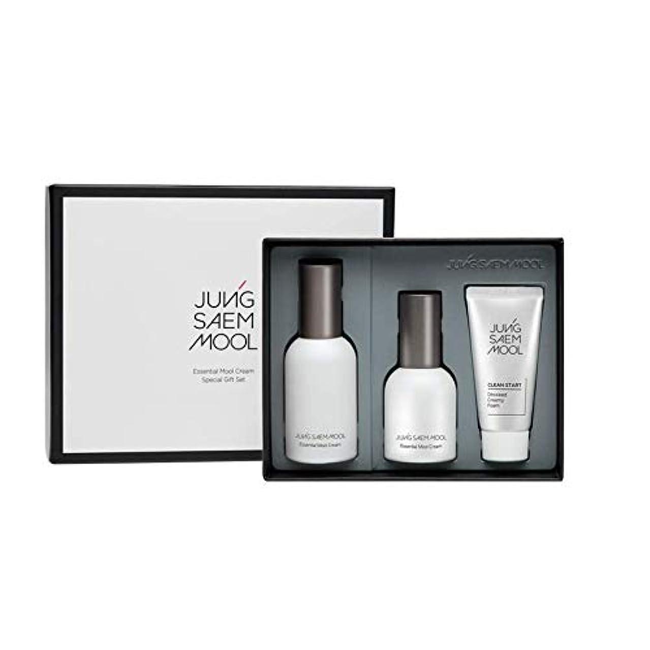 アカデミー領域インフラジョンセンムル JUNGSAEMMOOL エッセンシャルムルクリームスペシャルギフトセット Essential Mool Cream Special Gift Set [並行輸入品]