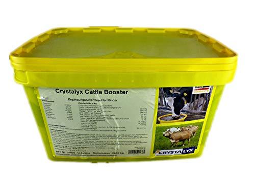 Crystalyx Cattle Booster für hohe Leistungen Ergänzer Rinder Milch + Mast 22,5kg