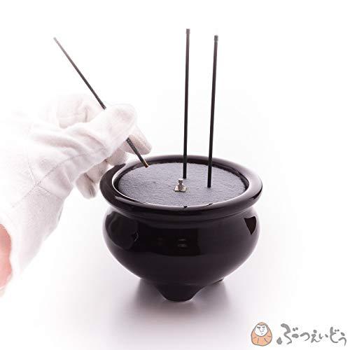 仏具・サンやすらぎ安全便利な電子線香(金/3寸)