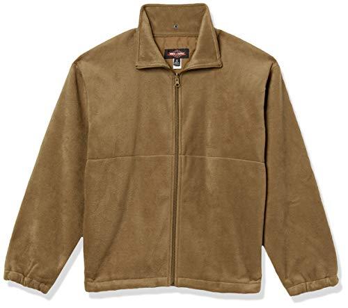 Tru-Spec Herren Polarfleecejacke, Herren, Jacke, Polar Fleece Jacket, Coyote, 2X-Large Regular