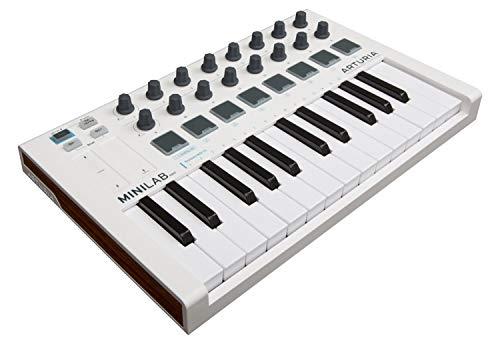 Arturia MINILAB MKII Keyboard w/AxcessAbles Headphones