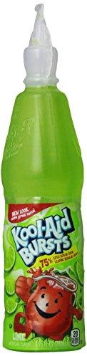 Kool-Aid Bursts Kiwi Lime Flavored Juice Drink (12 Bottles)