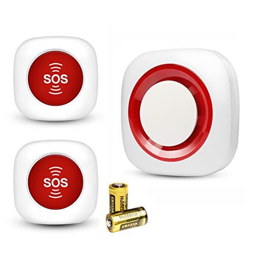 Notrufhilfe Notrufhilfe für Senioren Alarmanlage Alarmanlage Alarmanlage Alarmanlage Alarmanlage SOS kabellos mit Batterien